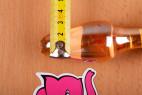 Anální kolík Cat Tail – měření