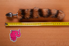 Anální kolík Racoon Tail – metr