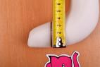 Satisfyer Pro Plus Vibration měříme průměr horní části