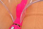 Vibrátor Raspberry Rabbit, s dvojitým silikonem – takhle by vypadal uvnitř