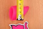 Menstruační kalíšky Fun Cup, Explore kit, měříme šířku kalíšku