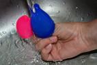 Menstruační kalíšky Fun Cup, Explore kit, testujeme voděodolnost