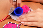 Menstruační kalíšky Fun Cup, Explore kit, v pytlíku