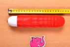 Silikonový vibrátor Big Muscle – měříme délku