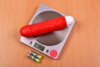 Silikonový vibrátor Big Muscle – na váze bez baterií