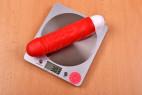 Silikonový vibrátor Big Muscle – na váze s bateriemi