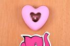 Bezdrátové vibrační vajíčko Pink Love, ovladač na stole