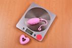 Bezdrátové vibrační vajíčko Pink Love, na váze bez ovladače