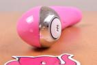 Vibe Therapy KamaSutra silikónový vibrátor, pohľad zo spodu na ovládanie
