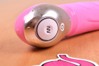 Vibe Therapy KamaSutra silikónový vibrátor, pohľad na ovládanie