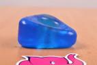 Erekční kroužek Triangle Ring, na stole Erekční kroužek Triangle Ring, rozměry – tmavě modrá