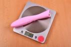 Silikonový vibrátor Pink Lover, na váze