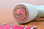 Silikonový vibrátor Turquoise Diamond – detail na ovládání