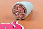 Masážny vibrátor s uškami Turquoise Diamond