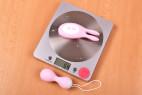 Vibračné vajíčko BOOM Rabbit & Balls, ovládač na váhe