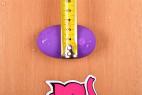 Vibrační anální kolík Orchid Zen s ovladačem, starší verze, rozměry