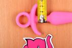 Análny kolík Pink Shining, rozmery