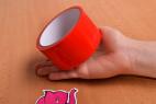 Bondážna páska Rouge - fotenie v predajni Ružový Slon Havířov