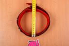 Kožený obojok na krk - meriame najväčší možný priemer