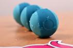 Venušiny kuličky Stellar Balls – detail tyrkysových kuliček