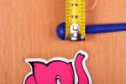 Silikonový dilatátor Blue Stick – měříme šířku dilatátoru