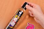 Shunga Serenity starý obal – otevírání lahvičky