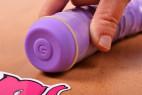 Primeros Soft Glide - nasadený kondóm na vibrátora