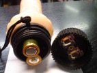 Vibrátor gelový Toy4Fun 24*3.5 cm