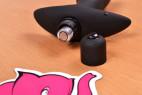 Vibrační anální kolík Prostate Jet – baterie je v kolíku