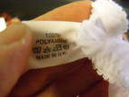 Prádlo ženy nohavičky biele otváracia SL
