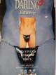 Prádlo muži tanga černé řetízek S-L