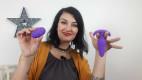 Vibrační anální kolík Orchid Zen s ovladačem, starší verze, Karin