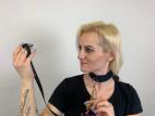 Choker Bijoux Indiscrets MAZE Graby, Verča