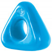 Erekční kroužek Triangle Ring – světle modrá