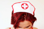 Plus size kostým Bedroom Nurse - testerka Jenny