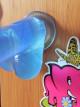 Dildo gélové prísavka modré 17 * 3 cm