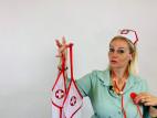 Plus size kostým Bedroom Nurse, Verča