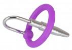 Spermie Stopper so silikónovým krúžkom Glans Ring (8 mm)