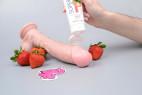 SUPERGLIDE jahodový lubrikačný gél Strawberry (75 ml), na dildu