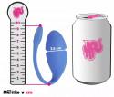 We-Vibe Jive bezdrátové vibrační vajíčko, rozměry v porovnání s plechovkou