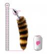 Anální kolík Racoon Tail, plechovka