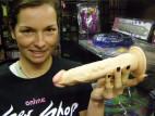 Vibrátor telový s prísavkou 22 cm