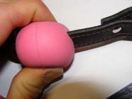 Roubík do pusy z gumy a kůže