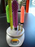 Vibrátor kaktus  fialový 19*3 cm