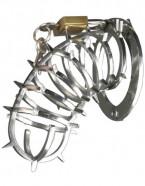 Pás cudnosti muži - kovová klietka