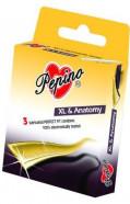 Pepino XL - 3ks kondomy velké