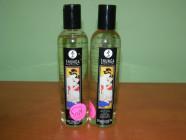 Shunga Sensation masážní olej levandule – starší obal