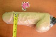 Vibrátor s semenníkmi BiggBoy 23 × 5 cm