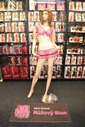 Priehľadný komplet Pink sa sukienkou