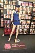 Sexy kostým Modrá policajtka